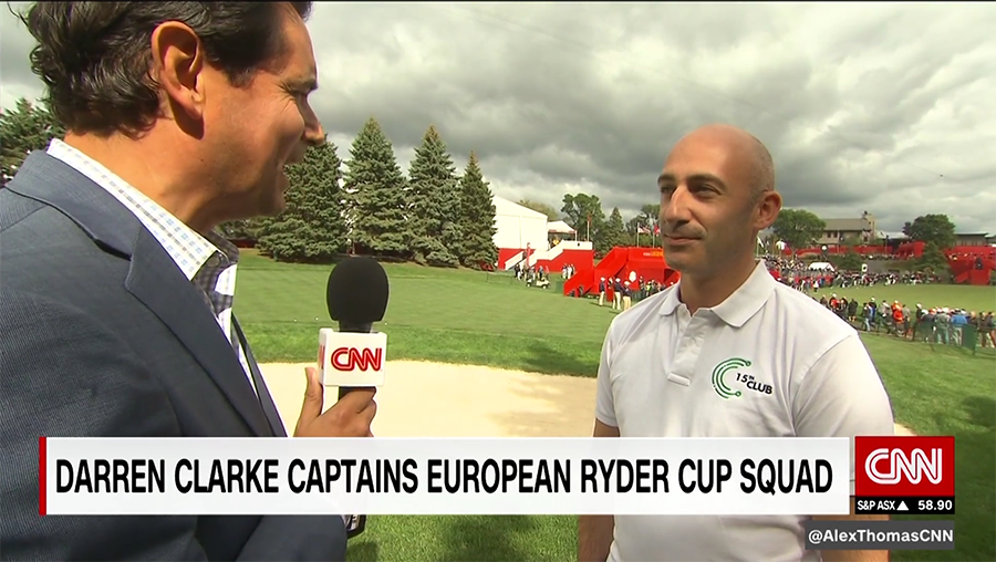 Blake Wooster on CNN World Sport
