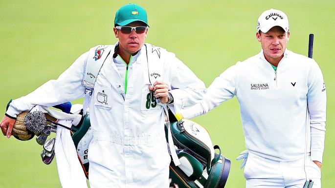 From sleeping rough to being caddie for Masters hero