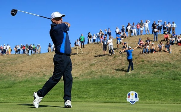 Player data helps dictate Ryder Cup roles in golf's analytics revolution