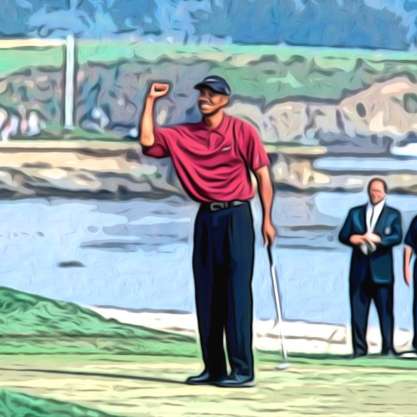 How Tiger Won the U.S. Open by 15 Shots